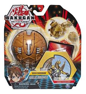 Figura E Acessórios Bakugan Gigante Aurelus Dragonoid 2074