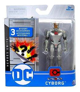 Boneco  Dc Liga Da Justiça Heroes Unite Cyborg Sunny 2189
