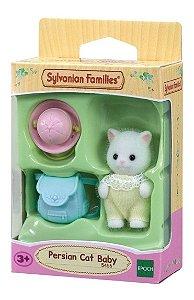Sylvanian Families Mini Bebe Gato Persa Divertido Epoch 5456