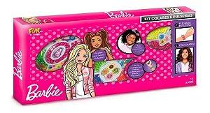 Kit De Miçangas Barbie Colares E Pulseiras Fun F0028-0