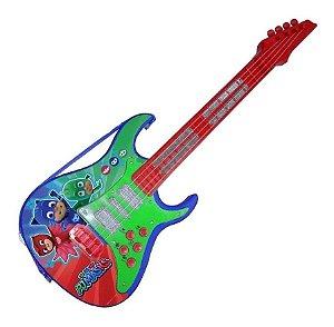 Guitarra Brinquedo Candide  Linha Musical Pjmasks 1724