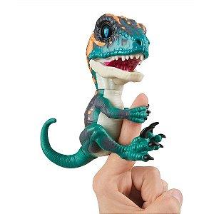 Fingerlings Untamed Dinossauro Verde Escuro - Fury - Candide