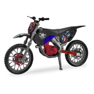 Mini Moto Marvel - Capitão America- Venomized Motocross 9403