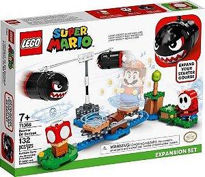 Lego 71366 Super Mario - Expansão Bombardeio De Bill Balaços