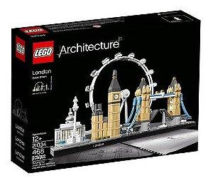 Lego Architecture Londres 21034 468 Peças