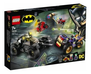 Lego Batman Playset Perseguiçao Do Triciclo Do Joker 76159