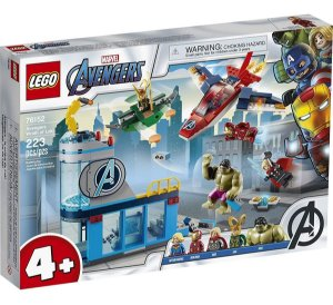Lego Marvel Os Vingadores A Ira De Loki Com 223 Peças 76152