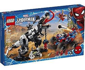 Lego Marvel Spiderman Emboscada A Venomosaurus 76151