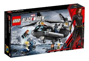 Lego Marvel Perseguição Helicóptero Viúva Negra 76162 Lego