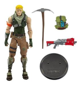 Boneco Fortnite Articulado  Figura Jonesy -18cm  Fun