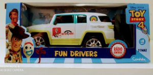 Veículo de Controle Remoto Fun Driver Disney Caboom 4912