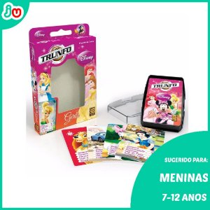 Super Trunfo Girls Disney - 32 cartas - Grow