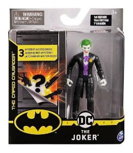 Boneco The Joker Terno Preto 10 Cm - 2182 Sunny