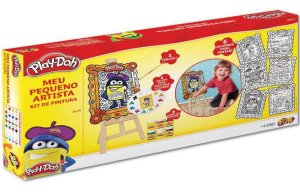 Play Doh Kit De Pintura Meu Pequeno Artista Da Fun 80059