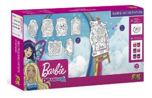 Brinquedo Kit De Pintura Barbie Dreamtopia Fun 84206