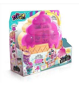 Brinquedo Kit Mega Case Slimelicious Perfumado Da Fun F00187