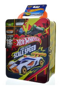 Hot Wheels Maleta Porta Carrinhos - 18 Entradas Fun Amarela