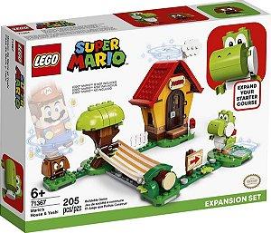Lego Super Mario A Casa Do Mario E Do Yoshi - Lego 71367