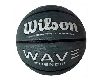 Bola Basquete Wave Phenom 295 Wilson Cinza