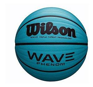 Bola Basquete Wave Phenom 295 Wilson Azul