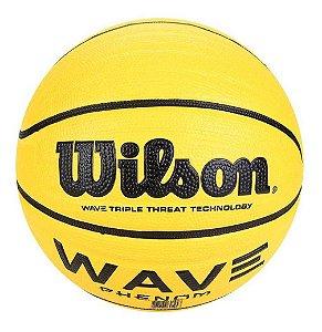 Bola Basquete Wilson Wave Phenom 295 Amarelo