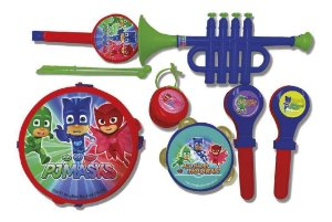 Kit Musical Set  Pjmasks  Brinquedo Candide 1703