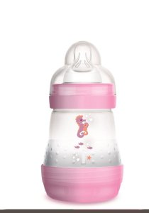 Mamadeira Mam Easy Start 160ml 0m+ Emb. Unitária Rosa 4662