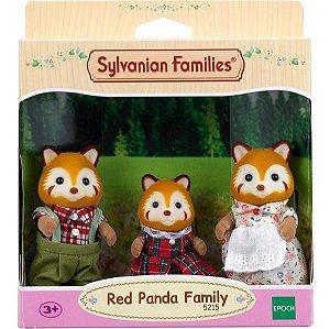 Sylvanian Families Familia Dos Pandas Vermelhos Epoch 5215