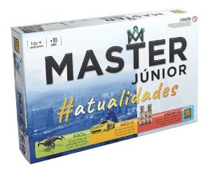 Jogo Master Júnior Atualidades 03756 Grow