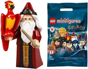 Lego Minifigures Harry Potter Serie 2 Alvo Dumbledore 71028