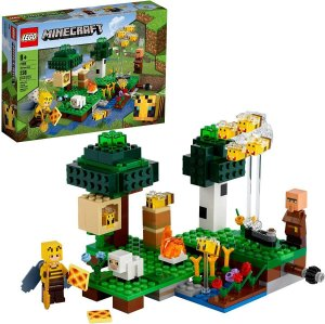 Lego Minecraft  A Fazenda Das Abelhas  238 Peças  21165