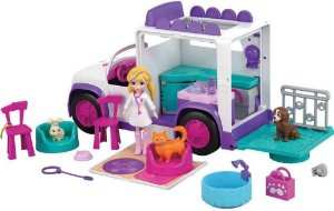 Polly Pocket Hospital Móvel Dos Bichinhos - Mattel Gfr04