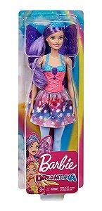 Boneca Barbie Dreamtopia Fada Fantasia Roxa Da Mattel
