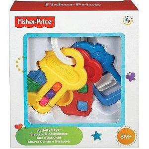Brinquedo Chaves De Atividade Mattel 71084 Fisher Price