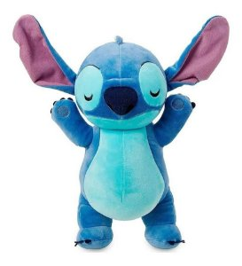 Pelúcia Big Feet Stitch  Disney Fun 30 cm
