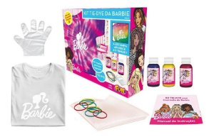 Kit Tie Dye Da Barbie Camiseta Tam G