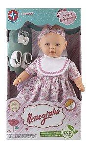 Boneca Meu Nenezinho  Com Cheirinho Estrela