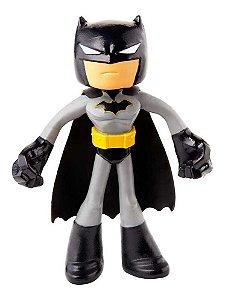Batman Preto Flexível 10 Cm Dc Liga Da Justiça - Mattel