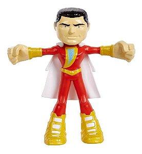 Shazam Flexível 10 Cm Dc Liga Da Justiça - Mattel