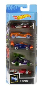Hot Wheels X- Raycers  Pacote C/05 Carros Ghp59