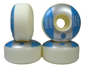 Roda De Skate 53mm Next 2 By Moska Azul Prata Street