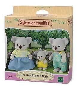 Sylvanian Families Família Coalas Copa De Árvore Epoch 5502