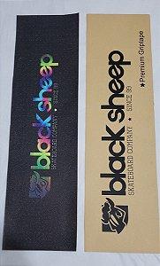Lixa Emborrachada Tie Dye Estamp  Black Sheep Premium 9x33