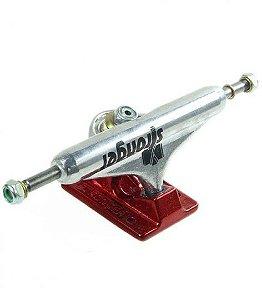 TrucksTruck Stronger Central Vazado 139mm - Prata/Vermelho
