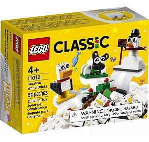 Lego Classic  Peças Brancas Criativas  60 Peças