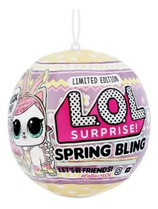 Lol Surprise Spring Bling  Pet  7 Surpresas  Candide