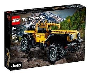 Lego Technic  Jeep Wrangler 665 Peças  42122