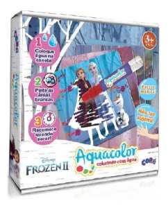 Frozen Ii Aquacolor Colorindo Com Água - Toyster