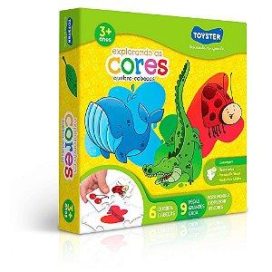 Quebra - Cabeça Explorando As Cores Toyster