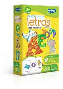 Jogo Educativo Descobrindo As Letras A E I O U Toyster